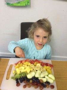 Preschool 'Eat a rainbow' healthy eating workshop